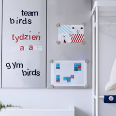 BABY ROOM GYM: styl , w kategorii Szkoły zaprojektowany przez Just Interiors