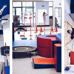BABY ROOM GYM: styl , w kategorii Szkoły zaprojektowany przez Just Interiors,