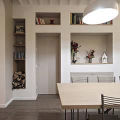 Salotto Design Country : Sala da pranzo in stile  di JFD - Juri Favilli Design
