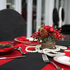 Trang trí bàn ăn:  Bếp xây sẵn by Công ty TNHH Thiết Kế Xây Dựng Song Phát