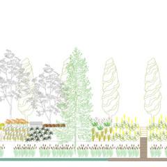 INNOCENTI EVASIONI: Giardino in stile  di A3PAESAGGIO