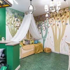 Деконструктивизм в сказочном лесу: Детские спальни в . Автор – Школа Ремонта