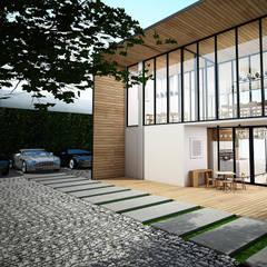 :  บ้านและที่อยู่อาศัย โดย Zero field design studio,