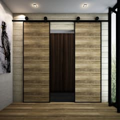 Doors by Zero field design studio