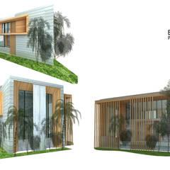 :  บ้านและที่อยู่อาศัย by Zero field design studio