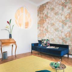 Appartement am Hohenzollerndamm: klassische Küche von CARLO Berlin - Architektur & Interior Design