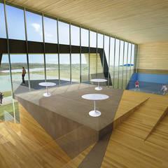 صالة الرياضة تنفيذ Speziale Linares arquitectos