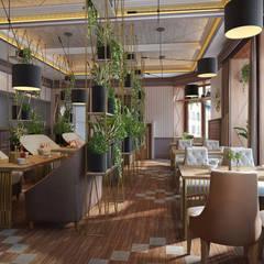 Дизайн интерьера ресторана - идеи дизайна HoReCa : Коммерческие помещения в . Автор – Art-i-Chok