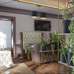 Дизайн интерьера ресторана в современном стиле - дизайн коммерческих помещений: Коммерческие помещения в . Автор – Art-i-Chok
