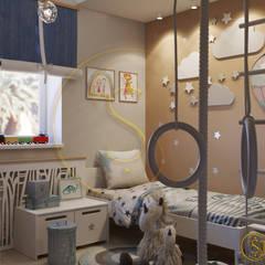 детская вариант 2: Детские спальни в . Автор – status