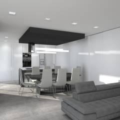 ห้องนั่งเล่น โดย Magnific Home Lda, โมเดิร์น