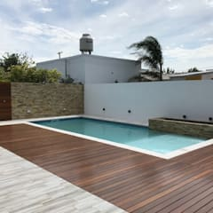 Garden Pool by Estudio A+I