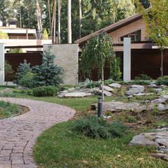 حديقة صخرية تنفيذ ПАН Ландшафт