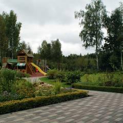 Волоколамск: Сады в . Автор – ПАН Ландшафт