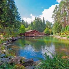 ПАН Ландшафт의  정원 연못, 북유럽