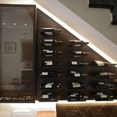 Wine cellar by Bloco Z Arquitetura
