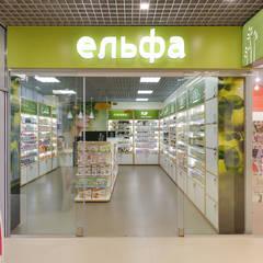 Дизайн интерьера магазина в зеленых тонах: Офисы и магазины в . Автор – Art-i-Chok