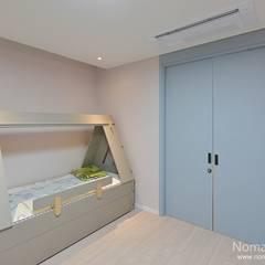 66평 강서구 엘크루블루오션 - 부산: 노마드디자인 / Nomad design의  어린이용 침실