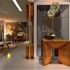 Living room by DESIGN EVOLUTION LAB,