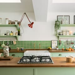 The Khoollect Kitchen by deVOL:  Kitchen units by deVOL Kitchens, Eclectic Wood Wood effect