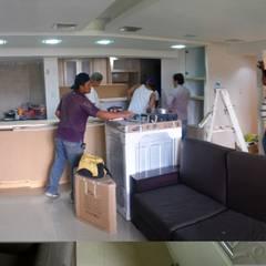 Proy. Remodelacion de Apartamento 100m2: Cocinas de estilo  por Arquigrafic, c.a., Minimalista