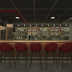 Baki & Başaran İç Mimarlık – Jungle Bar  // Konsept Tasarım :  tarz Bar & kulüpler