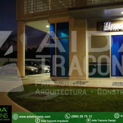 CLINICA HEMODIALISIS PURIFICARE: Estudios y oficinas de estilo clásico por AIDA TRACONIS ARQUITECTOS EN MERIDA YUCATAN MEXICO