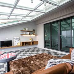 Projekty,  Dach zaprojektowane przez SING萬寶隆空間設計