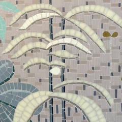 pétales et végétaux: Salle de bains de style  par Lechevallier stephanie