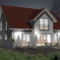 SI-Ökohaus der Woche KW 52/2017. Einfach nachhaltig Bauen.:  Einfamilienhaus von SI-Massivhaus