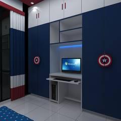 Captain America theme:  Bedroom by Creative Focus