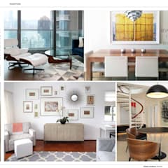 : modern Living room by B Squared Design Ltd.
