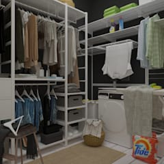 Dressing room by ХаТа - design, Scandinavian
