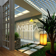Tuinhuis door Mora Project Medan Arsitek & Interior