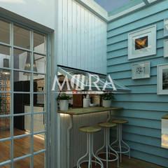 Renovasi Rumah Pribadi Surabaya:  Unit dapur by Mora Project Medan Arsitek & Interior