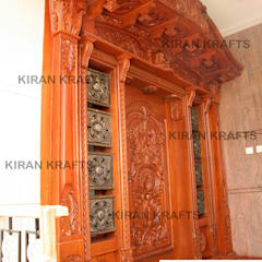 Wooden doors by Kiran Enterprises