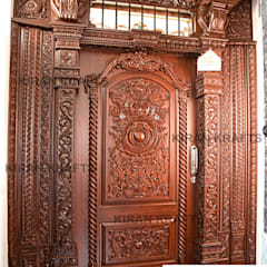 Wooden doors by Kiran Enterprises,