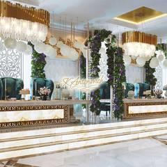 Interior decoration llc Katrina Antonovich:  Dining room by Luxury Antonovich Design, Classic