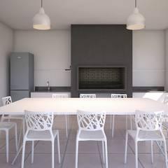 Arcadia 5: Spa de estilo  por Arcadia Arquitectura,Moderno