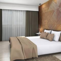 Arcadia 5: Dormitorios de estilo  por Arcadia Arquitectura