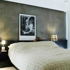 Formwell Garden:  Bedroom by Clifton Leung Design Workshop