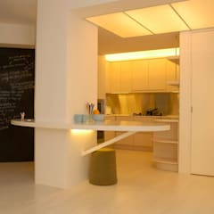 Park Towers: modern Kitchen by Clifton Leung Design Workshop
