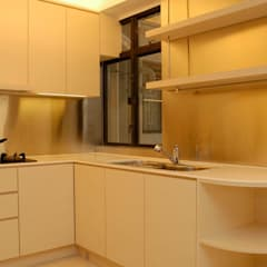 Park Towers:  Kitchen by Clifton Leung Design Workshop