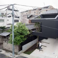 Couryard House A: Ryo MURATA Laboratoryが手掛けた屋根です。