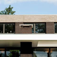 Achteraanzicht detail :  Villa door BB architecten
