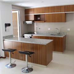 Edificio Quesada 2945: Cocinas de estilo moderno por MDOS Desarrollos Inmobiliarios