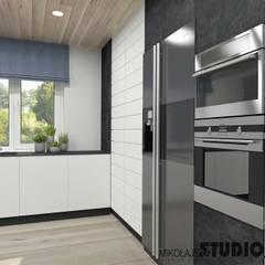 Dom w Jerzmanowicach: styl , w kategorii Kuchnia na wymiar zaprojektowany przez MIKOŁAJSKAstudio