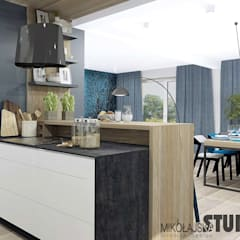 Built-in kitchens by MIKOŁAJSKAstudio