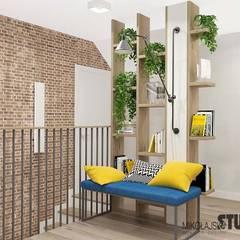 Dom w Jerzmanowicach: styl , w kategorii Korytarz, przedpokój zaprojektowany przez MIKOŁAJSKAstudio
