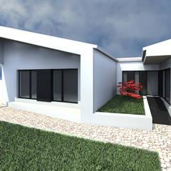 Casa SP por 2FCS - Arquitectura e Decoração Rústico